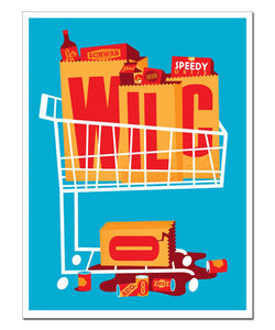 Grocery Cart Poster