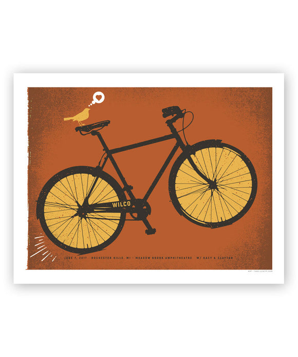 The Bicycle City Poster