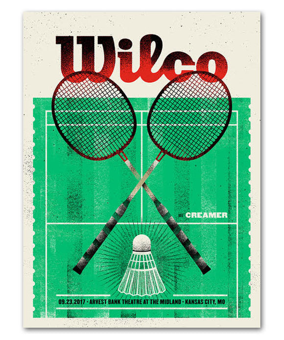 Badminton Anyone? Poster