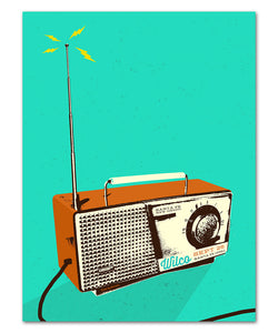 Wilco on the Radio Poster