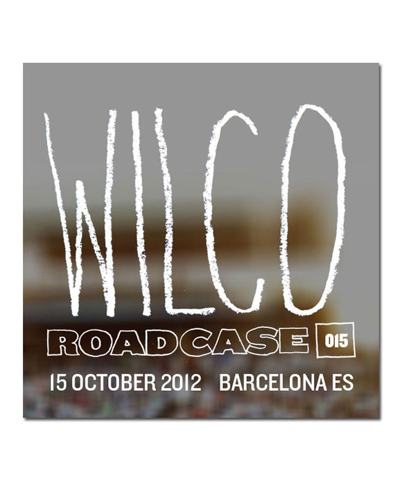 Roadcase 015 / October 15, 2012 / Barcelona, ES