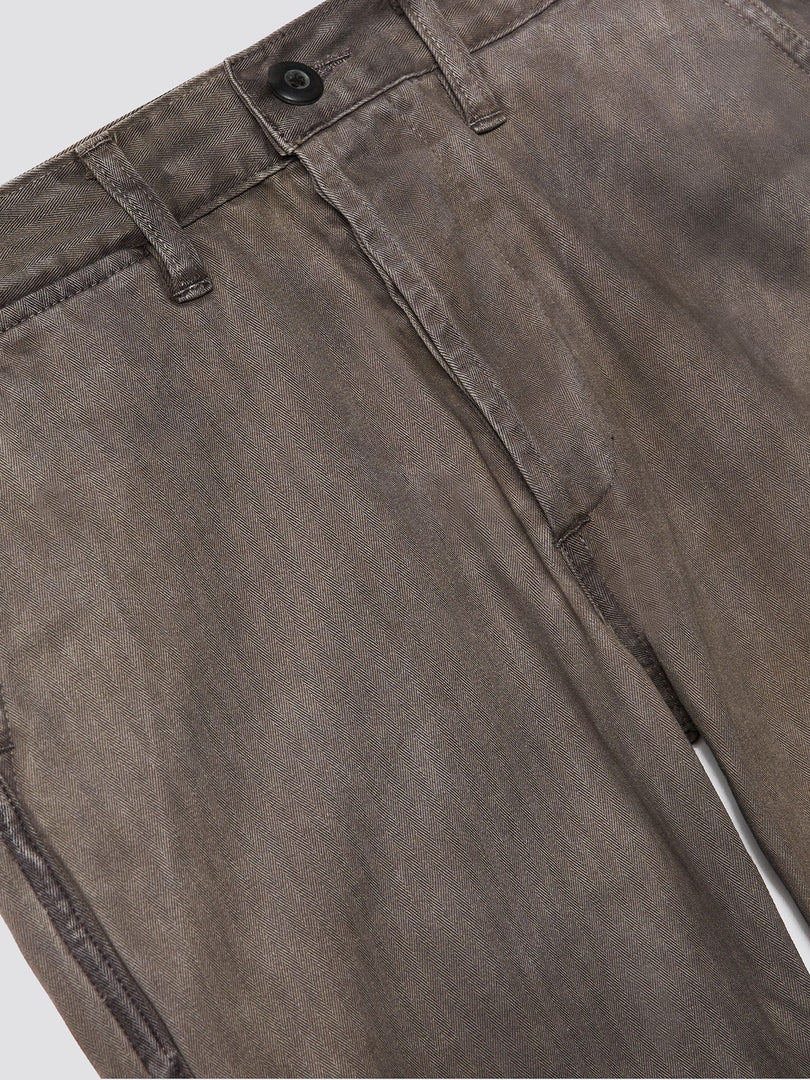 3SIXTEEN X ALPHA HERRINGBONE CHINO PANTS BOTTOM Alpha Industries