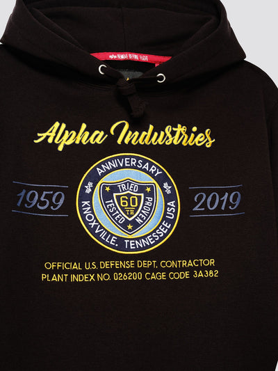 60TH ANNIVERSARY 59-19 HOODIE TOP Alpha Industries