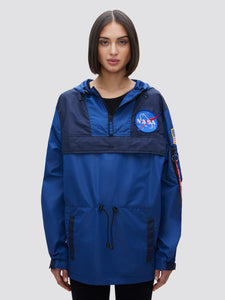 COLOR BLOCKED NASA ANORAK