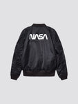 L-2B HOODED NASA II BOMBER JACKET