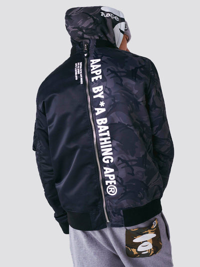 AAPE X ALPHA L-2B REV BOMBER JACKET OUTERWEAR Alpha Industries, Inc.