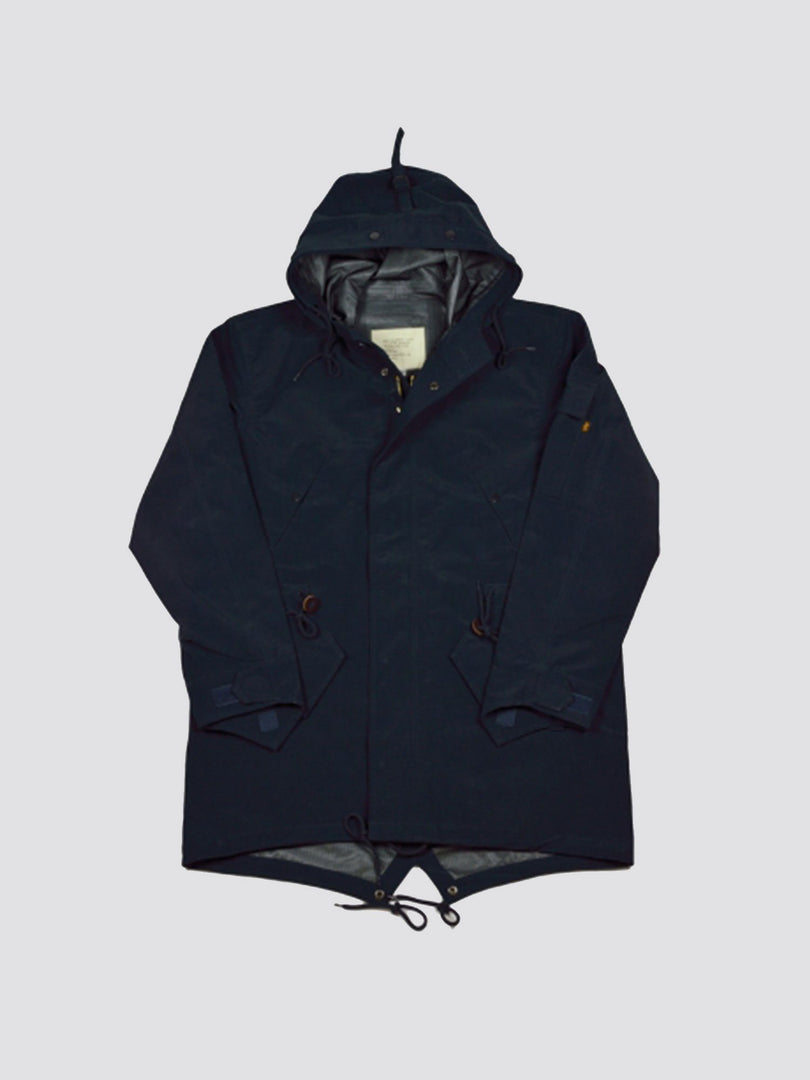 ACE HOTEL'S RAIN JACKET OUTERWEAR Alpha Industries NAVY L