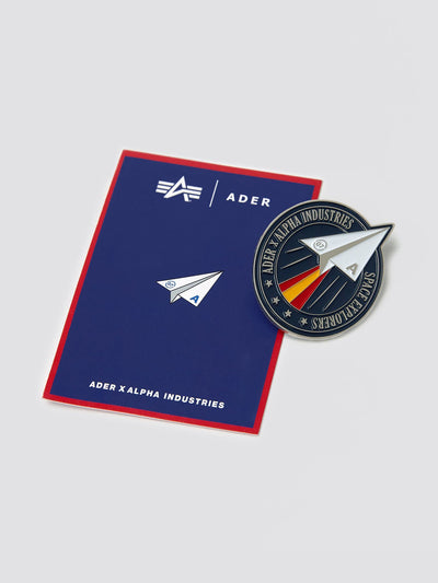 ADER ERROR X ALPHA SPACE EXPLORERS BADGE ACCESSORY Alpha Industries, Inc.