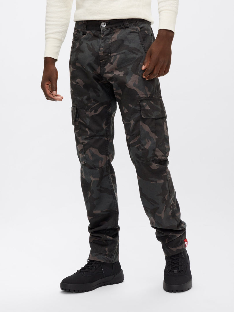 AGENT C PANT BOTTOM Alpha Industries, Inc. BLACK CAMO 30