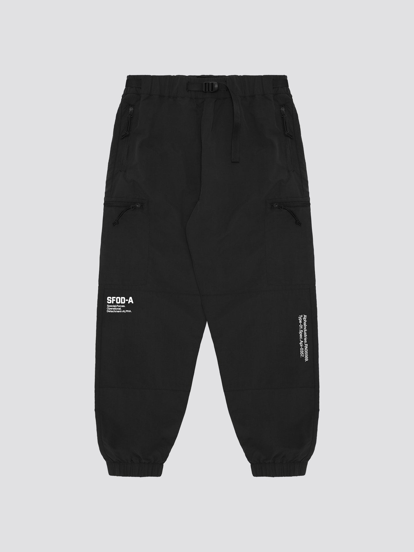 ALPHA ARMY TAPERED PANTS BOTTOM Alpha Industries, Inc. BLACK L