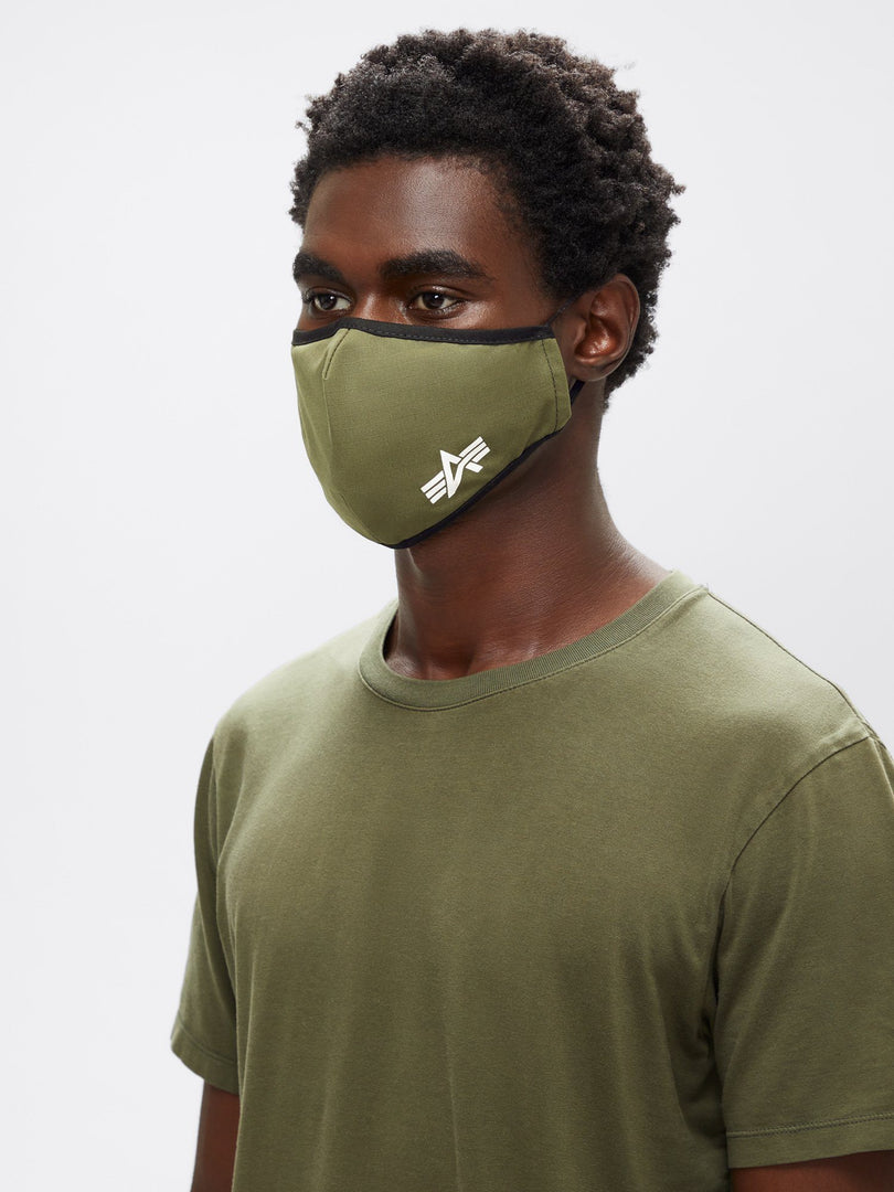 ALPHA CLOTH MASK ACCESSORY Alpha Industries, Inc. OLIVE O/S