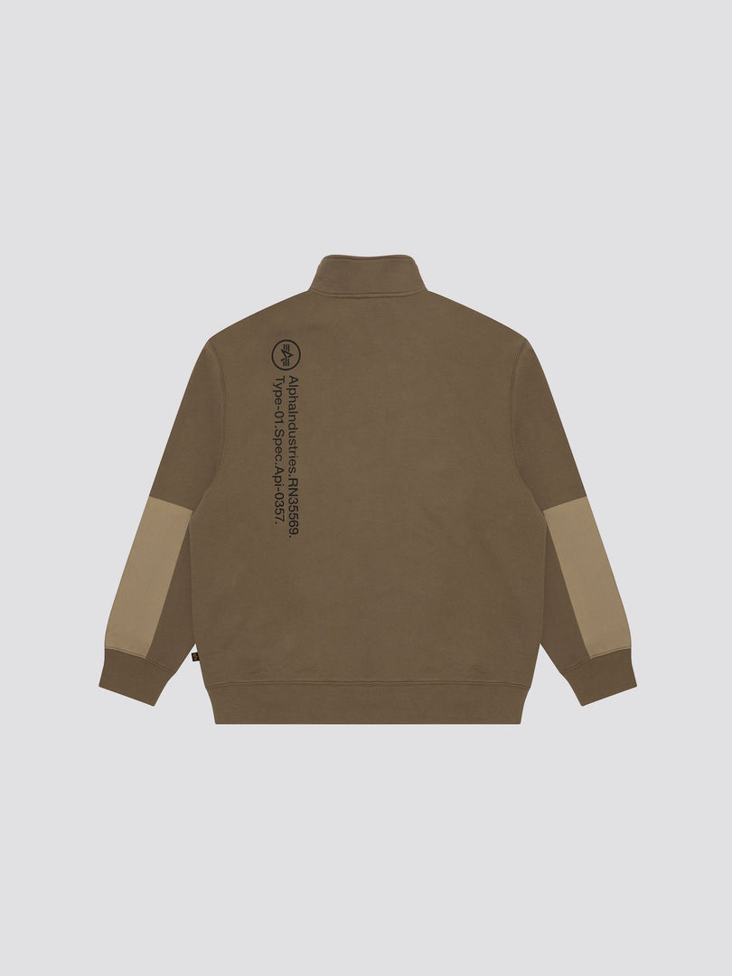 ALPHA CREWNECK TOP Alpha Industries, Inc.