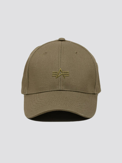 ALPHA EMBROIDERED CAP ACCESSORY Alpha Industries, Inc. OLIVE O/S
