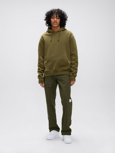 ALPHA HOODIE TOP Alpha Industries, Inc. OLIVE 2XL