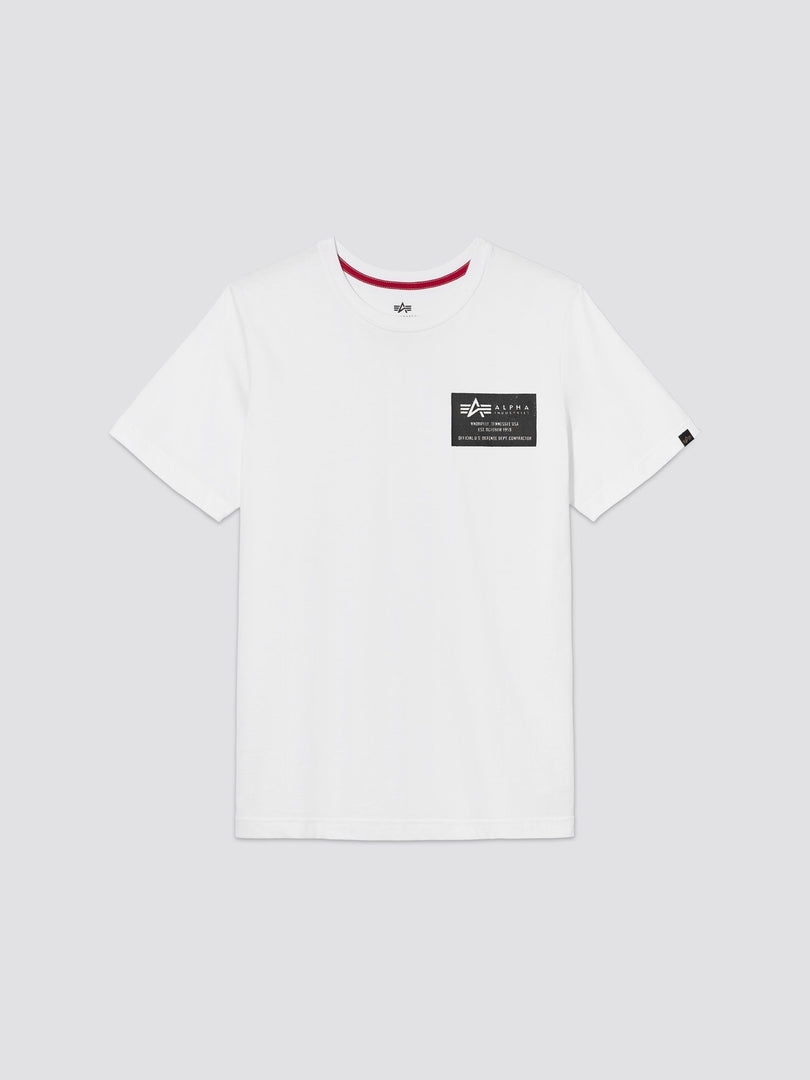 ALPHA STAMP TEE TOP Alpha Industries, Inc. WHITE 2XL