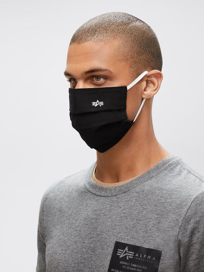 ALPHA SURGICAL STYLE MASK ACCESSORY Alpha Industries, Inc. BLACK O/S
