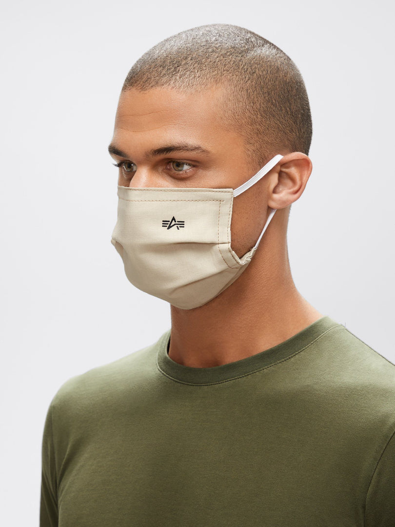 ALPHA SURGICAL STYLE MASK ACCESSORY Alpha Industries, Inc. SAND O/S