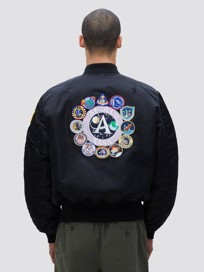APOLLO MA-1 BOMBER JACKET OUTERWEAR Alpha Industries