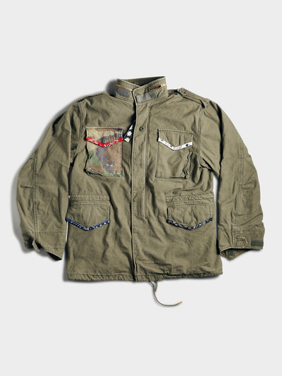 ATELIER & REPAIRS & ALPHA HAPPY FIELD JACKET OUTERWEAR Alpha Industries, Inc. OLIVE 2XL