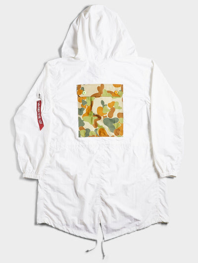 ATELIER & REPAIRS & ALPHA THE PACBAK PARKA OUTERWEAR Alpha Industries, Inc.