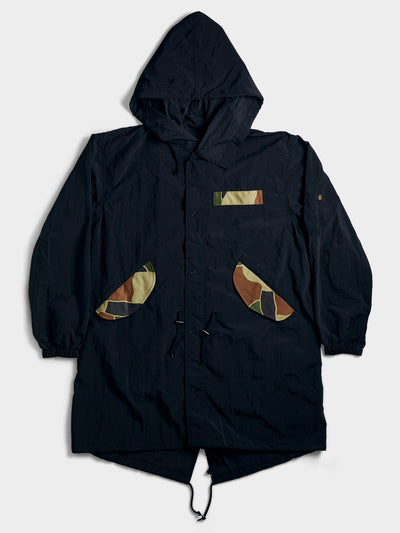 ATELIER & REPAIRS & ALPHA THE PACBAK PARKA OUTERWEAR Alpha Industries, Inc. BLACK 2XL
