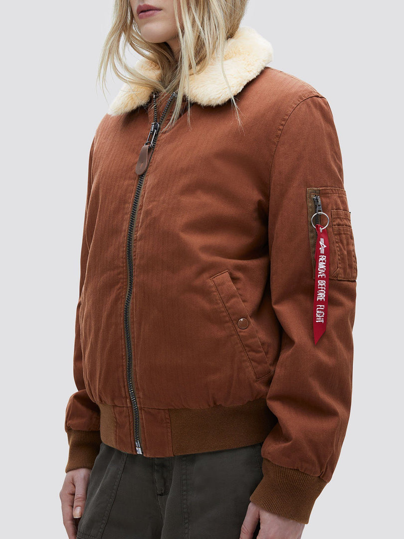B-15 HERRINGBONE BOMBER JACKET W SALE Alpha Industries