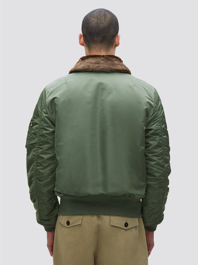 B-15 SLIM FIT BOMBER JACKET OUTERWEAR Alpha Industries