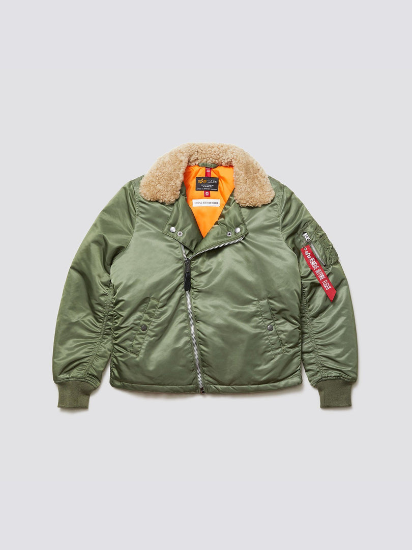 B-15 STRAIGHT HEM MOD BOMBER JACKET W SALE Alpha Industries