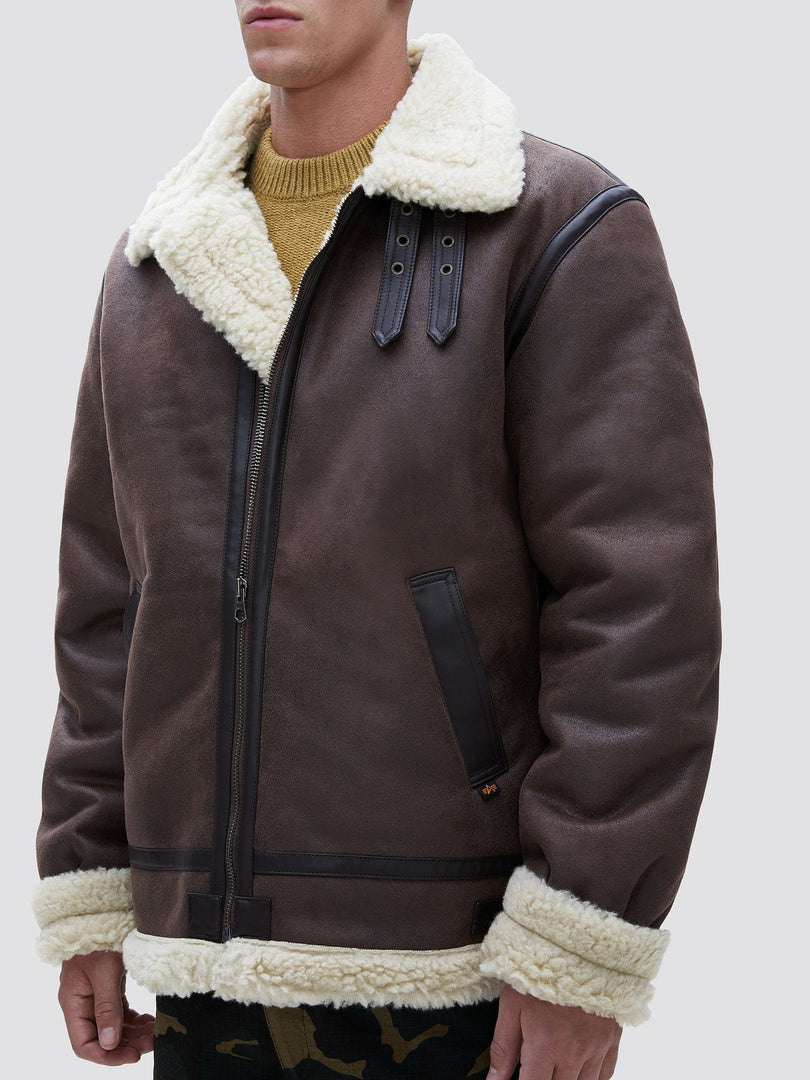 B-3 SHERPA MOD BOMBER JACKET OUTERWEAR Alpha Industries