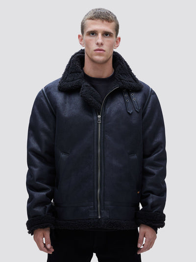B-3 SHERPA MOD BOMBER JACKET OUTERWEAR Alpha Industries BLACK 2XL