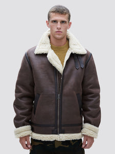 B-3 SHERPA MOD BOMBER JACKET OUTERWEAR Alpha Industries DEEP BROWN 2XL