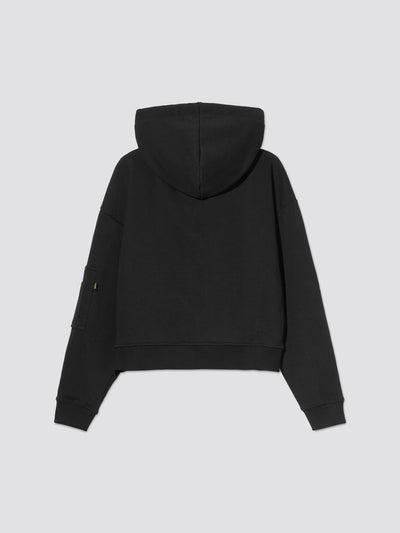 BASIC BOXY ZIP HOODIE W TOP Alpha Industries, Inc.