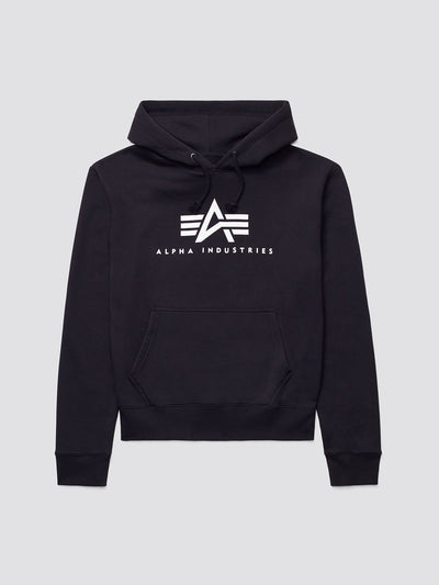 BASIC LOGO HOODIE TOP Alpha Industries BLACK XXS