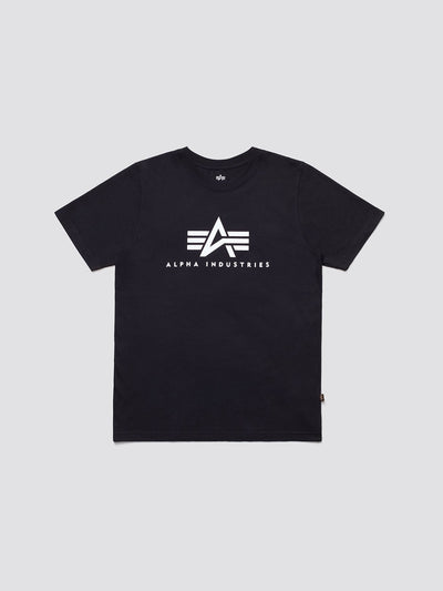 BASIC LOGO TEE TOP Alpha Industries BLACK 2XL