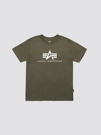 BASIC LOGO TEE TOP Alpha Industries OLIVE 2XL