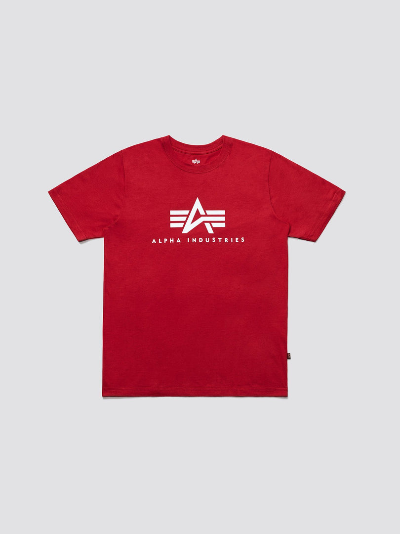 BASIC LOGO TEE TOP Alpha Industries RED 2XL