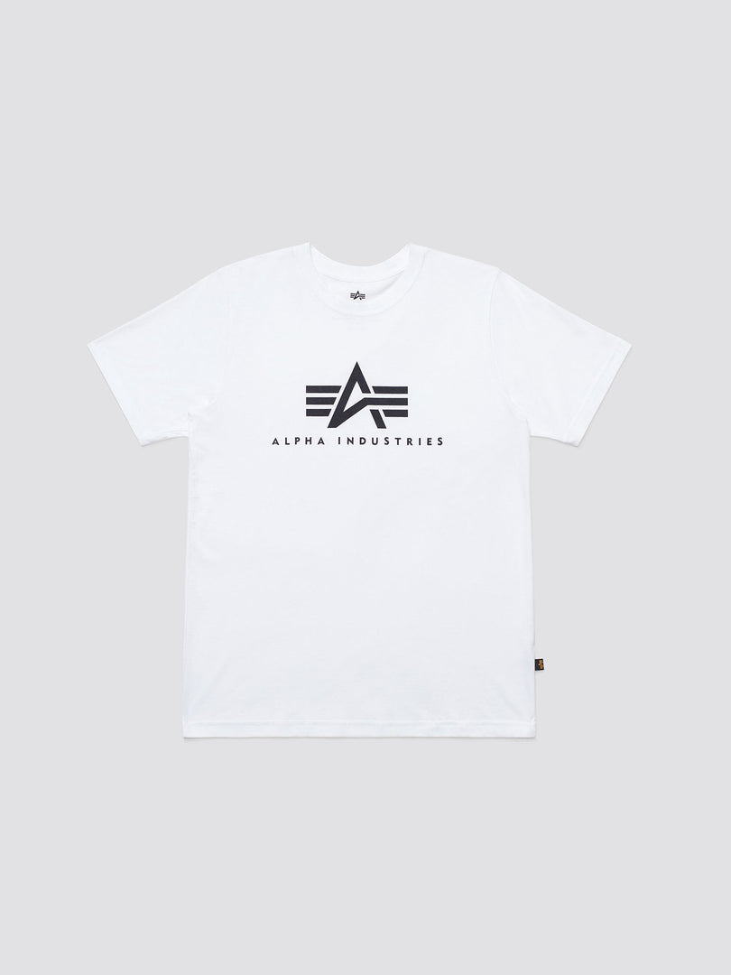 BASIC LOGO TEE TOP Alpha Industries WHITE 2XL
