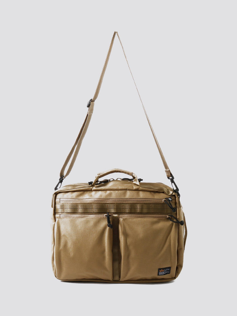BATTALIONS 3 WAY BAG ACCESSORY Alpha Industries KHAKI O/S