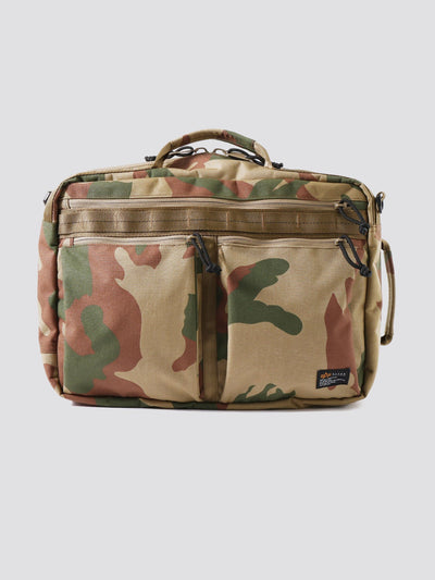 BATTALIONS 3 WAY BAG ACCESSORY Alpha Industries WOODLAND CAMO O/S