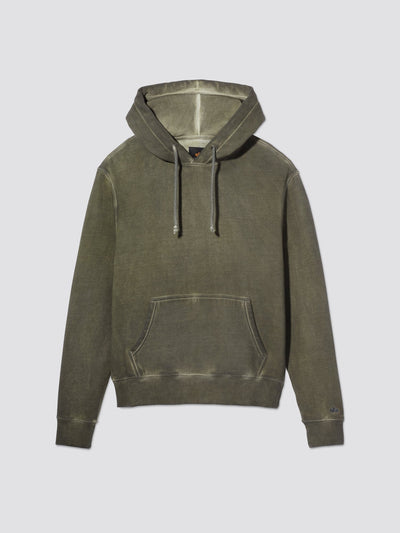 BATTLEWASH HOODIE TOP Alpha Industries, Inc. OLIVE 2XL