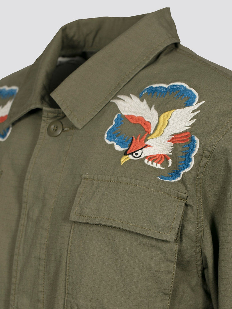 BDU W/ EMBROIDERY JACKET SALE Alpha Industries