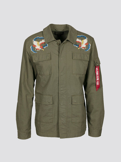 BDU W/ EMBROIDERY JACKET SALE Alpha Industries OLIVE DRAB 2XL