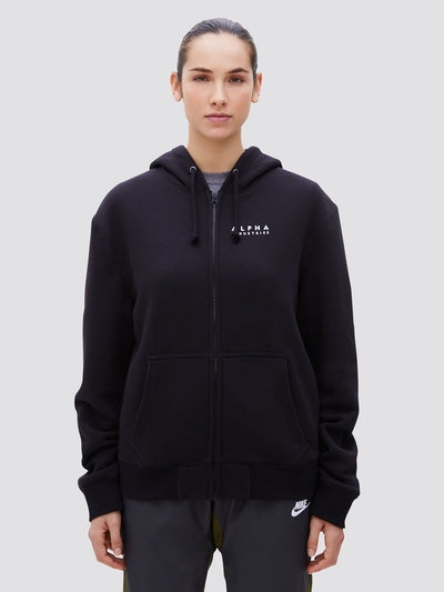 BLOOD CHIT FULL-ZIP HOODIE TOP Alpha Industries