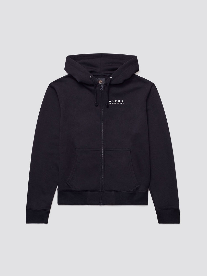 BLOOD CHIT FULL-ZIP HOODIE TOP Alpha Industries BLACK 2XL