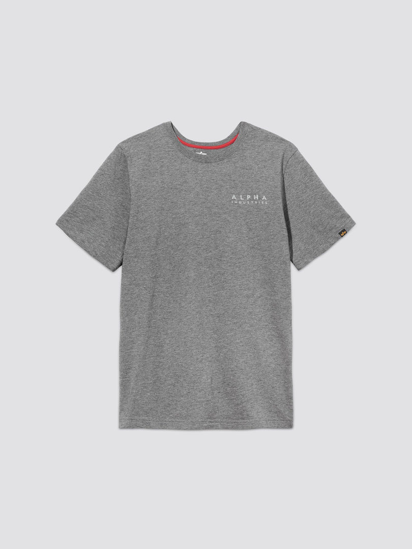 BLOOD CHIT II TEE TOP Alpha Industries, Inc. MEDIUM CHARCOAL HEATHER 2XL