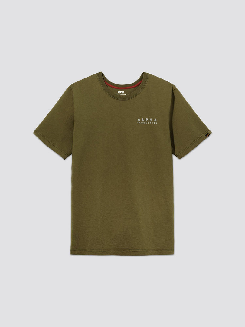 BLOOD CHIT II TEE TOP Alpha Industries, Inc. OLIVE 2XL