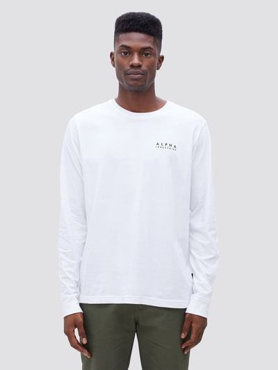 BLOOD CHIT LONG SLEEVE TEE TOP Alpha Industries
