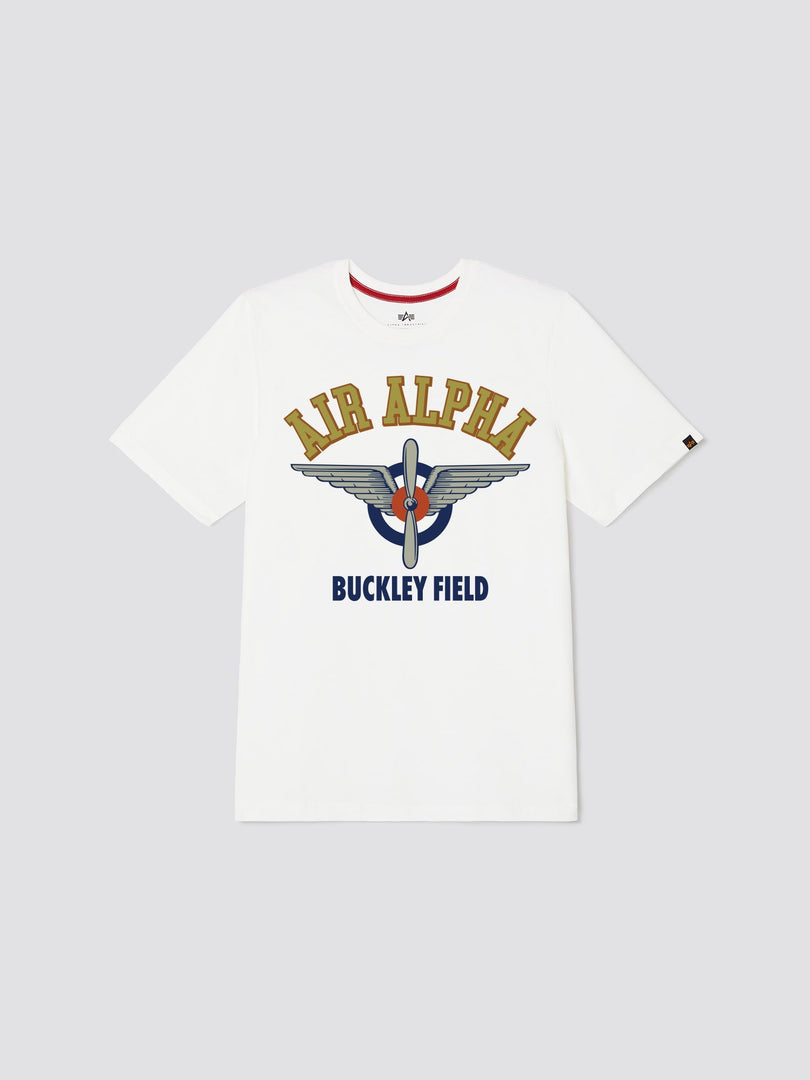 BUCKLEY FIELD TEE TOP Alpha Industries, Inc. WHITE 2XL