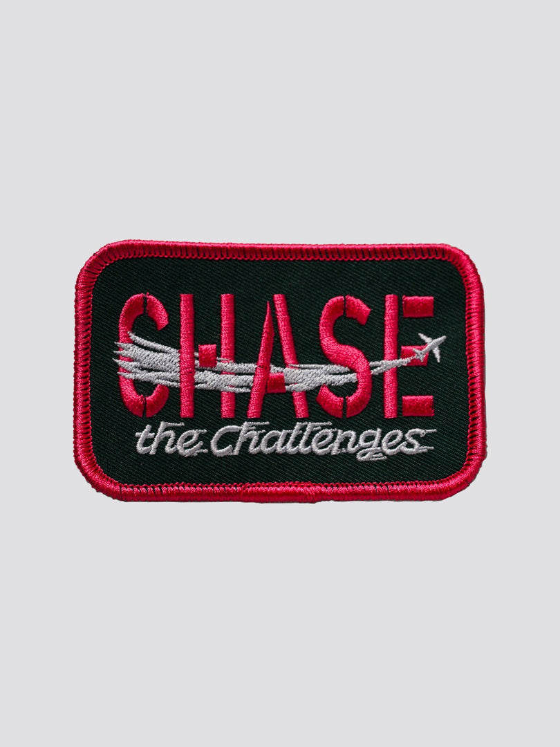CHASE THE CHALLENGE HAS HEART X ALPHA PATCH ACCESSORY Alpha Industries NO COLOR O/S