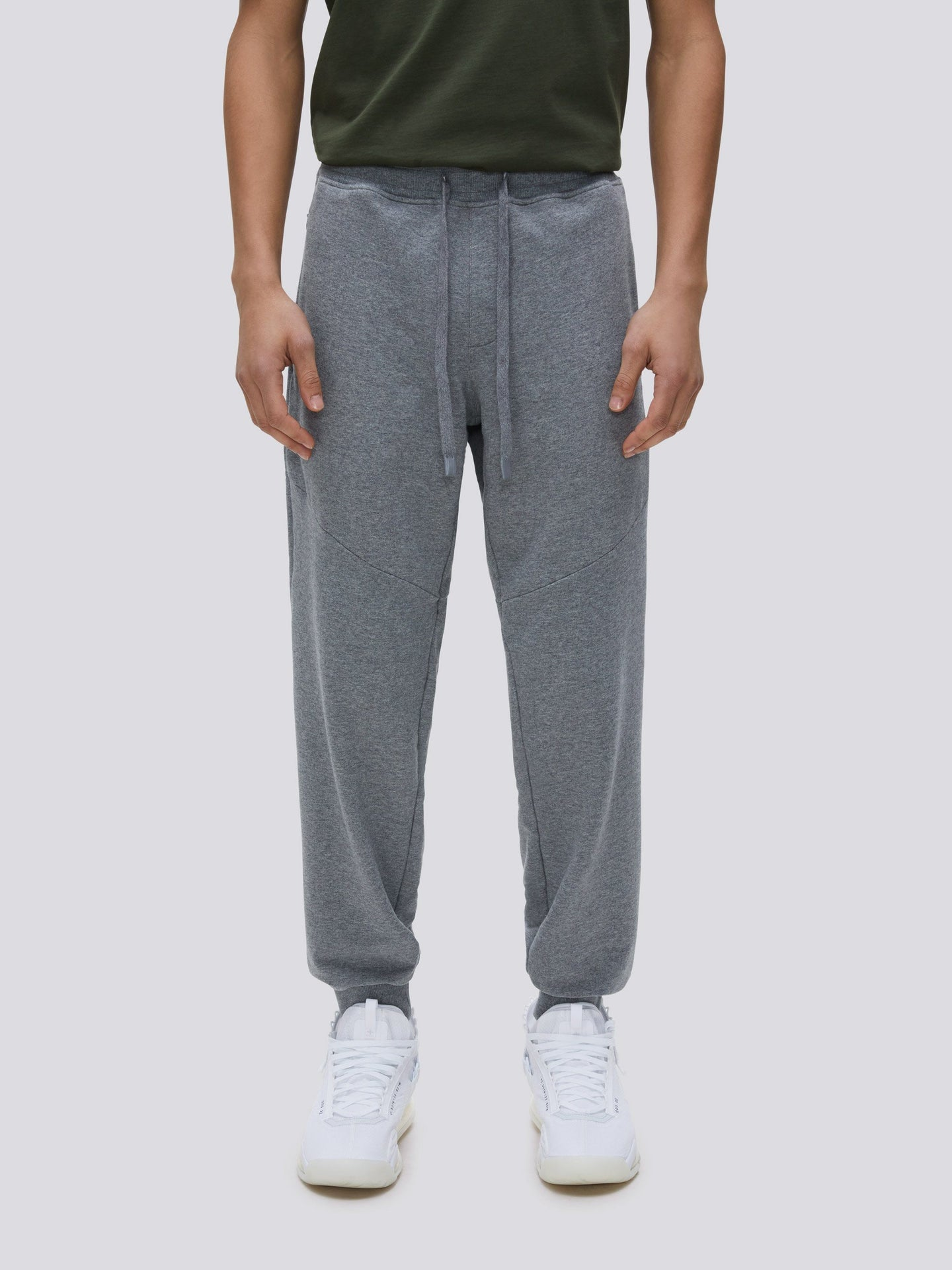 CLASSIC DRAWSTRING PANTS BOTTOM Alpha Industries, Inc. MEDIUM CHARCOAL HEATHER 2XL